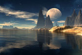 Antara - Alien Planet -02 — Stock Photo