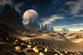 Antara - Alien Planet -03 — Stock Photo