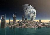 Fremden planeten gora 01 — Stockfoto
