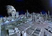 Alien Planet Gora 03 — Stock Photo