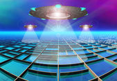Galea Alien Planet — Stock Photo