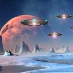 Постер, плакат: Alien World