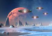 Alien World — Stock Photo