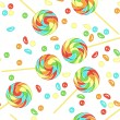 Royalty-Free Stock Vector Image: Seamless candy pattern