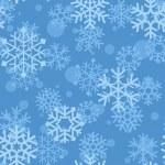 Постер, плакат: Snowflakes pattern