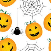 Patrón de halloween vector inconsútil — Vector de stock