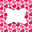 Royalty-Free Stock Vectorielle: Love card