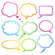 Royalty-Free Stock Vector Image: Speech bubbles