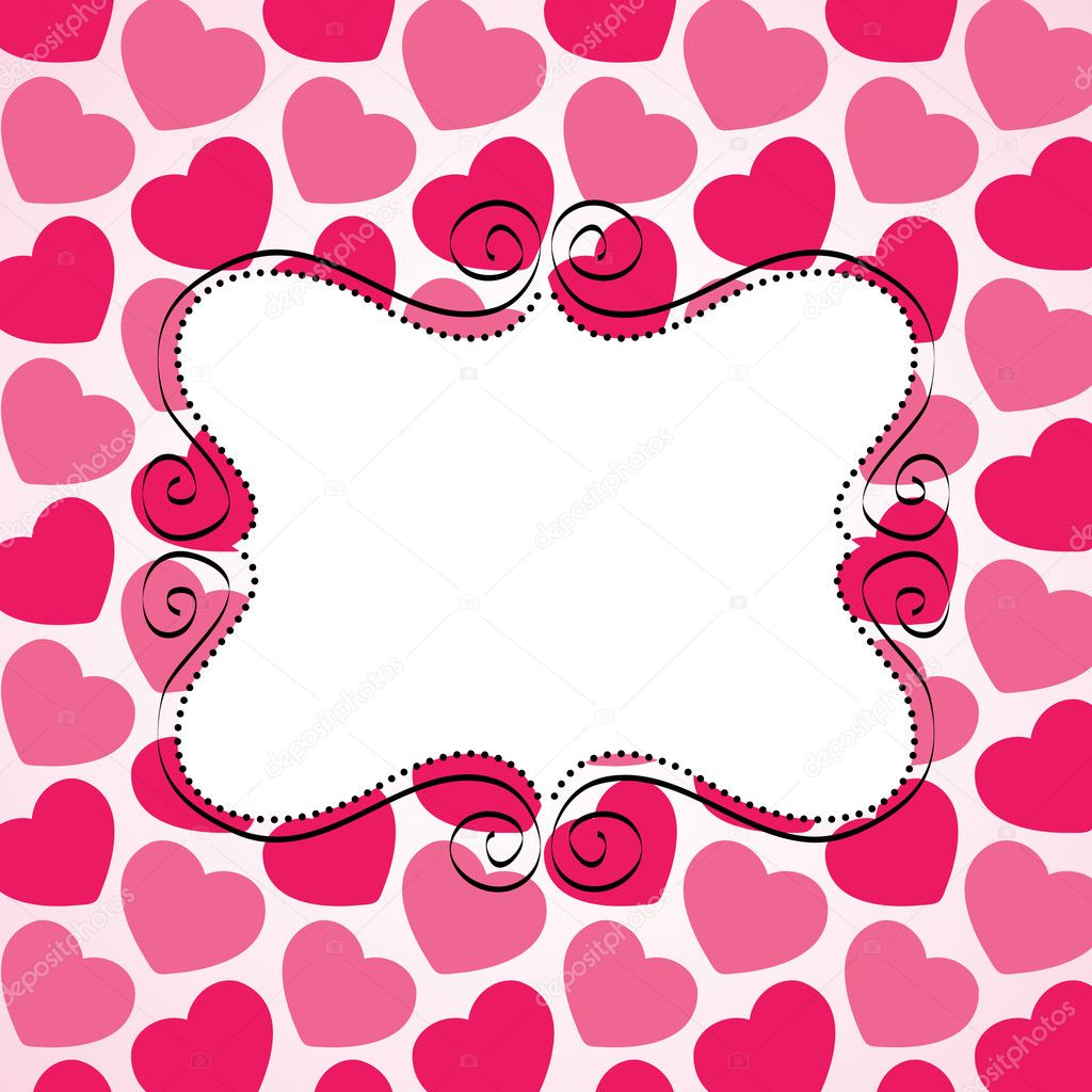 Love vector card — Stock Vector #7189449