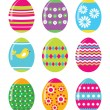 Easter eggs — Stock Vector #7309703