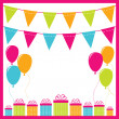 Birthday background — Stock Vector #7391844