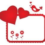 Valentine frame — Stock Vector #7514148