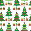 Christmas tree seamless vector — Stock Vector #7682014