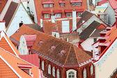 Tallinn roofs — Stock Photo