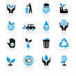 Ecology icons — Stock Vector #7230957