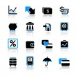 Banking icons — Stock Vector #7254525