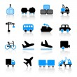 Transport icons — Stock Vector #7270298