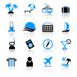 Travel icons — Stock Vector #7270301