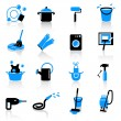 Homework icons — Stock Vector