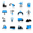 Royalty-Free Stock Vector Image: Industry icons