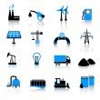 Royalty-Free Stock Vectorafbeeldingen: Industry icons