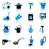 Homework icons — Stock Vector