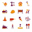 Stock Vector: Construction icons