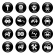 Stock Vector: Auto service icons