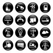 Stock Vector: Industry icons