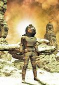 Astronaut space explorer — Stock Photo