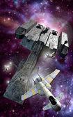 Spaceships — Stock Photo