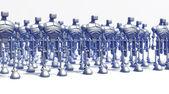 Robots vorming — Stockfoto