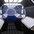 Spaceship corridor — Stock Photo #7203563