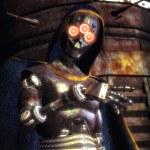 Evil robot — Stock Photo