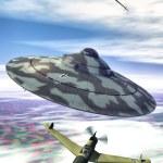 Постер, плакат: Ufo nazi flying saucer