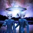 Ufo alien — Stock Photo #7219432