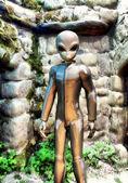 Ufo alien — Stockfoto