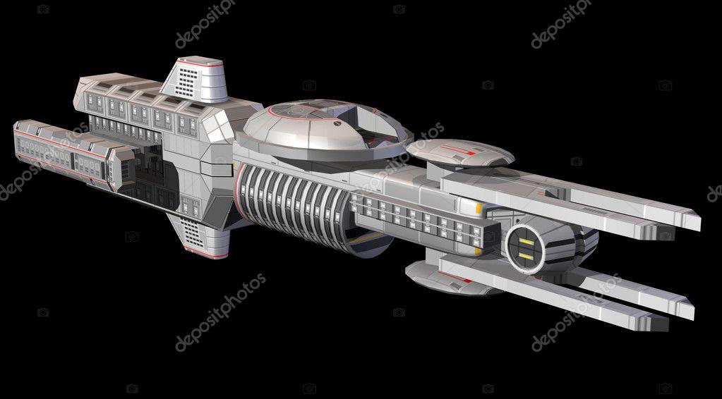 太空飞船 — 图库照片08innovari#7210653