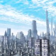 City futuristic landscape — Stock Photo #7225581