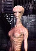 Alien girl — Stock Photo