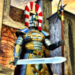 Fantasy knight elfic warrior — Stock Photo