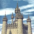 Royalty-Free Stock Photo: Fantasy castle