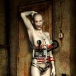 Horror woman freak fantasy — Stock Photo #7237612
