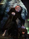 Monster monk — Stock Photo