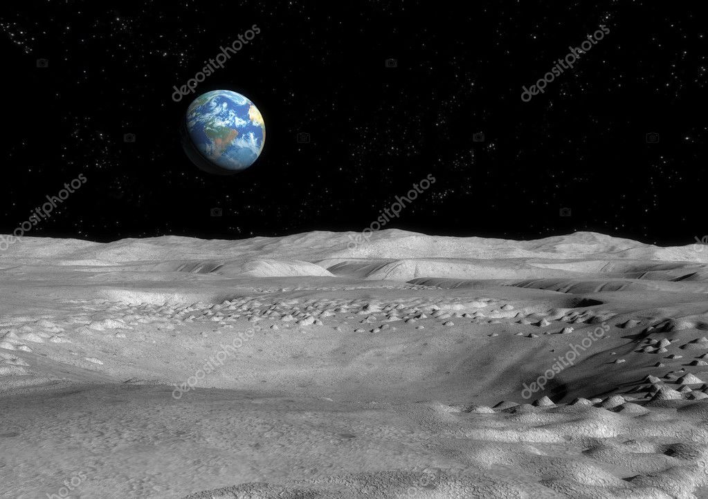 Moon Surface Pictures Moon Surface Background 3d