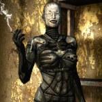 Horror woman freak fantasy — Stock Photo #7243665