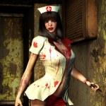 Horror woman freak fantasy — Stock Photo #7243691