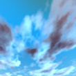 Sky clouds background — Stock Photo
