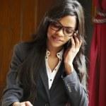 Beautilul businesswoman — Stock Photo