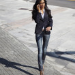 Business beautiful woman — Stock Photo